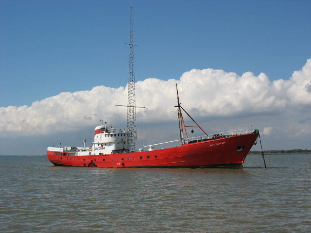 Radio Caroline gestart met tests op 648 AM