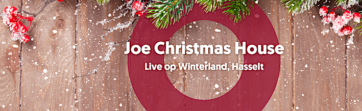 Joe Christmas House op Winterland in Hasselt