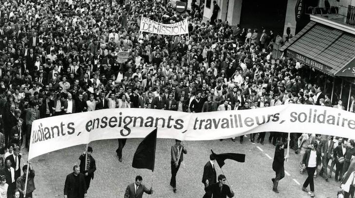VRT-netten blikken terug op mei '68