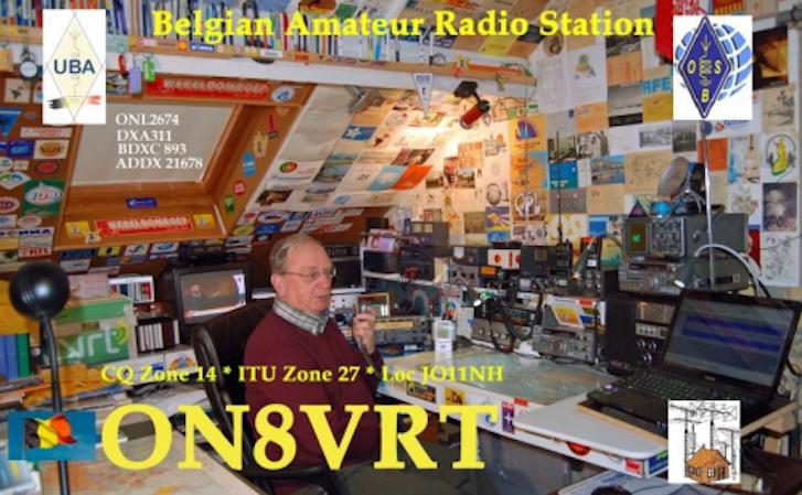 Jos ON8VRT uit Blankenberge - 2 (audio)