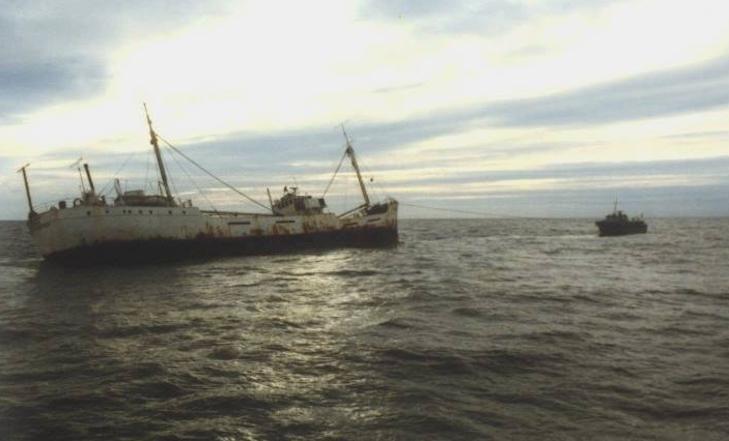 1979: Harde wind dreef Mi Amigo naar de kust