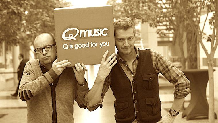 2009: Gedaan met 'misschien' bij Qmusic (video)