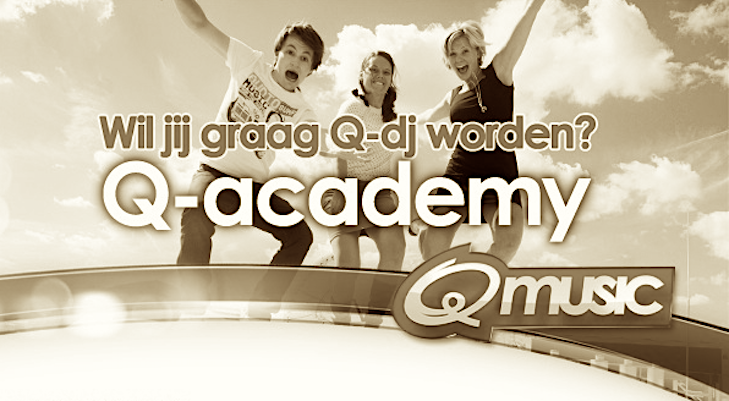 2008: Q-music start radioschool: de Q-Academy
