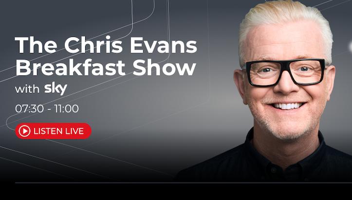 UK: Chris Evans is weer thuis (video)