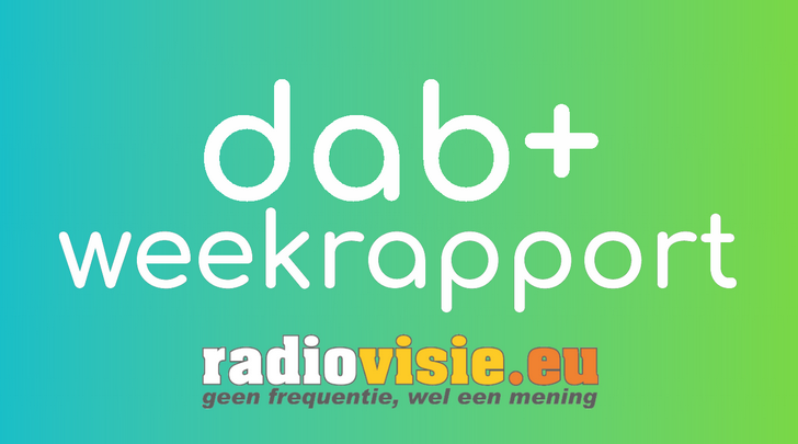 RadioVisie's DAB+ weekrapport 2020-10