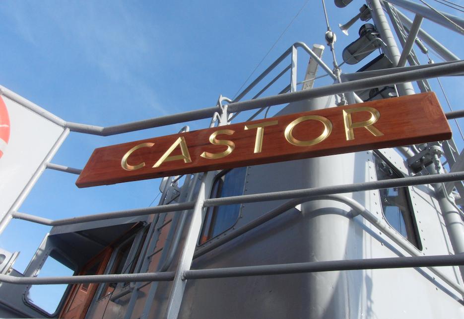 Vier dagen Radio Mi Amigo vanaf de Castor