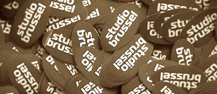 2011: Aangepaste vormgeving bij Studio Brussel