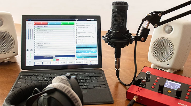 Lumo: een ganse radiostudio in je rugzak