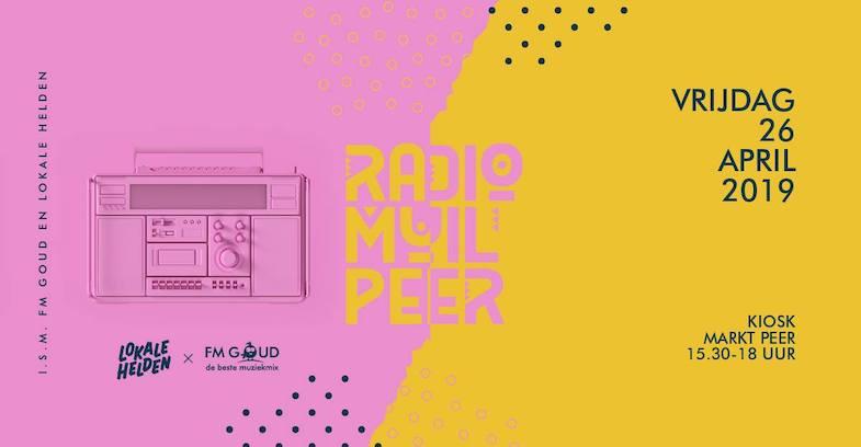 Radio Muilpeer onthult logo in... Peer