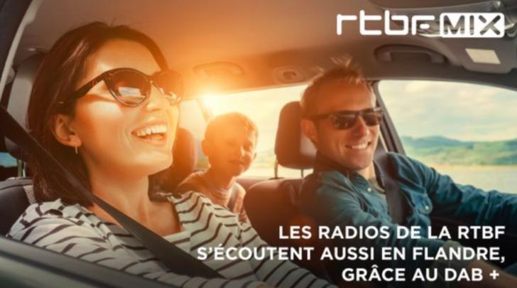 RTBF MIX vanaf 2 mei op Vlaamse DAB+