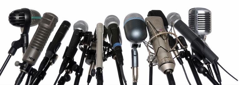 De 'favoriete' microfoon van de radio-dj