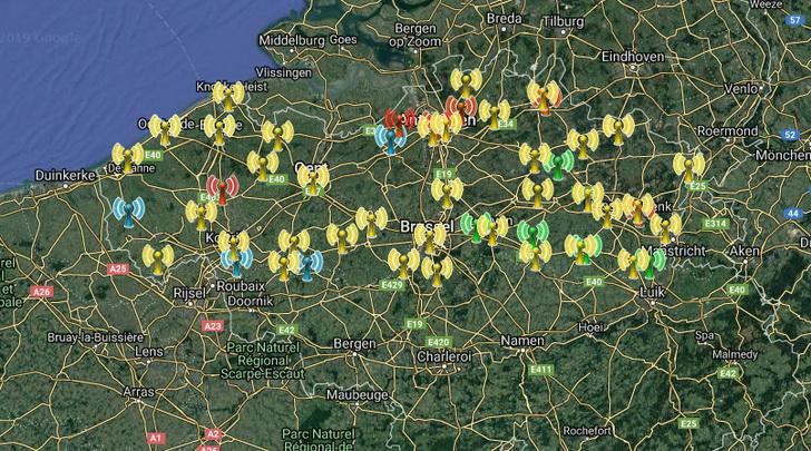Overzicht: alle DAB+ zenders in Vlaanderen