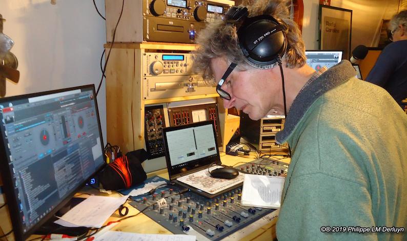 Johan verlegde steentje in de Noordzee (audio)
