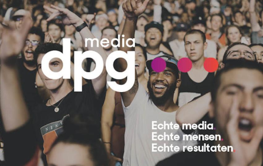 De Persgroep werd ook in Nederland DPG Media