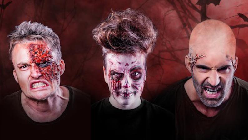 Qmusic, Q2 en CAZ in teken van Halloween (video)
