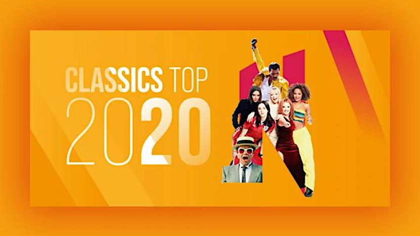 Nostalgie Classics Top 2020: 500.000 unieke luisteraars