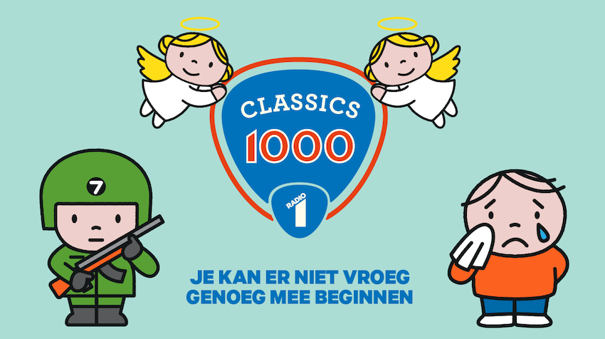 Radio 1: 'Stairway to Heaven' op 1 in Classics 1000 (video)