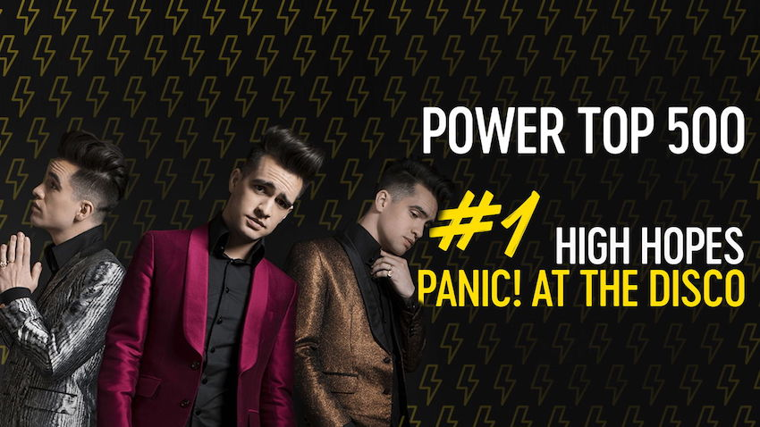 Qmusic: 'High Hopes' op 1 in Power Top 500 (video)