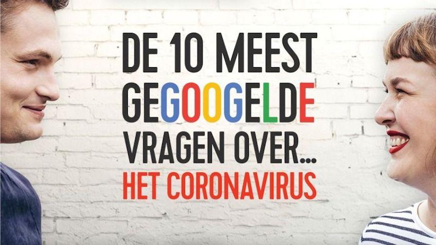 Qmusic: 'De 10 meest gegoogelde corona-vragen'