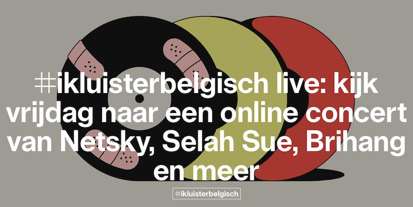 Studio Brussel organiseert Facebook-concert