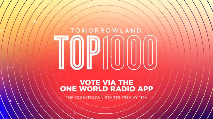 Avicii nummer 1 in Tomorrowland Top 1000 (video)