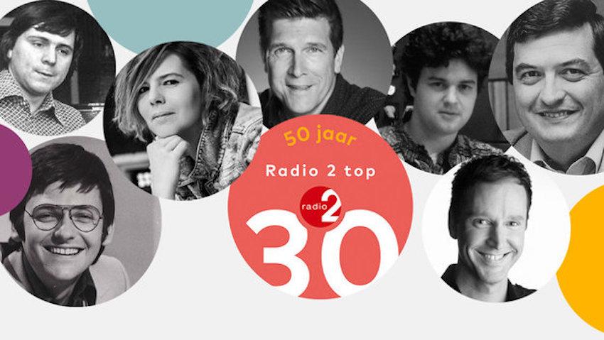 50 jaar Top 30 en Radio 2-actie rond mondmaskers