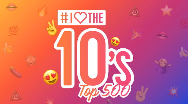Qmusic: I Love the 10's Top 500 op komst (video)