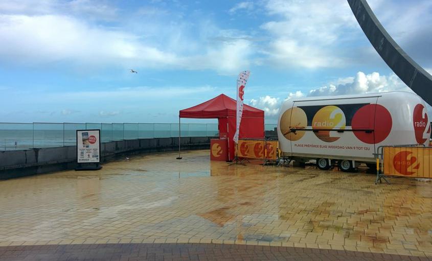 Radio 2 schrapt evenementen aan de kust