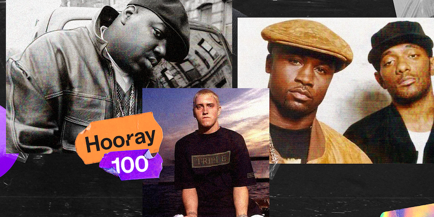 StuBru: 'Juicy' van The Notorious B.I.G op 1 in de 'Hooray 100'