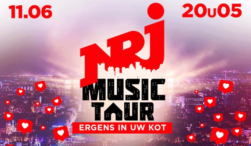Tweede editie van de NRJ Music Tour @Home