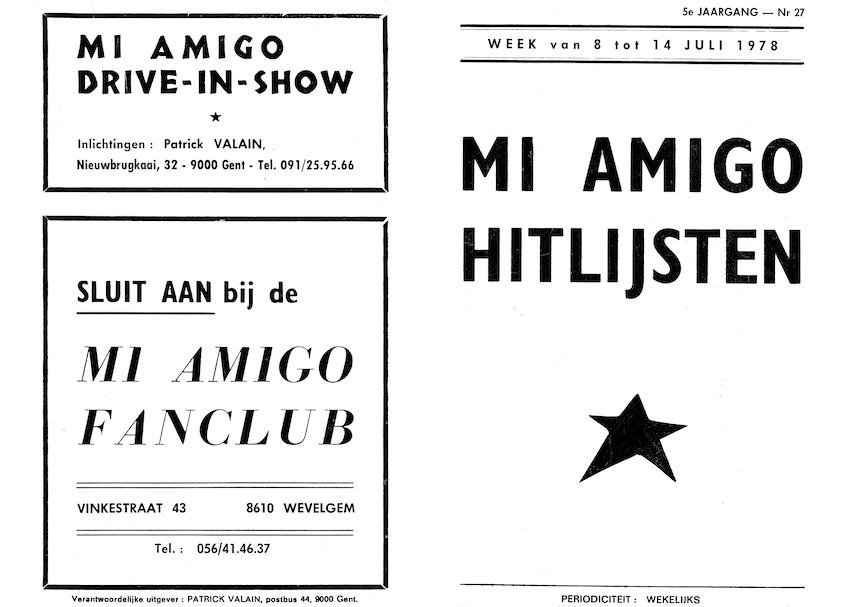 Mi Amigo Top 50 na 42 jaar eindelijk digitaal!