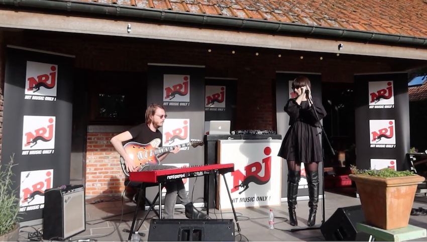 NRJ Stage: Celest won festival in haar tuin! (video)