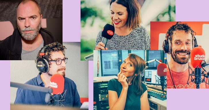 Vijf ex-collega's helpen Studio Brussel uit de nood