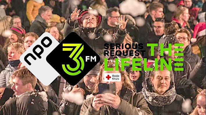 3FM Serious Request: 'Loop thuis!'