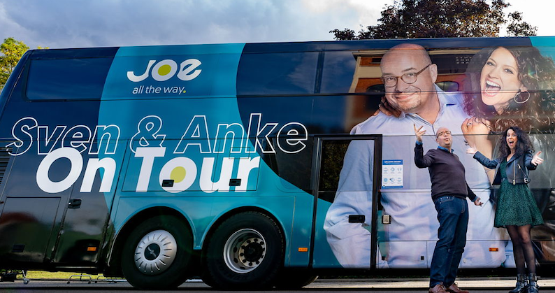 Joe: Sven en Anke gaan 'On Tour' (video)