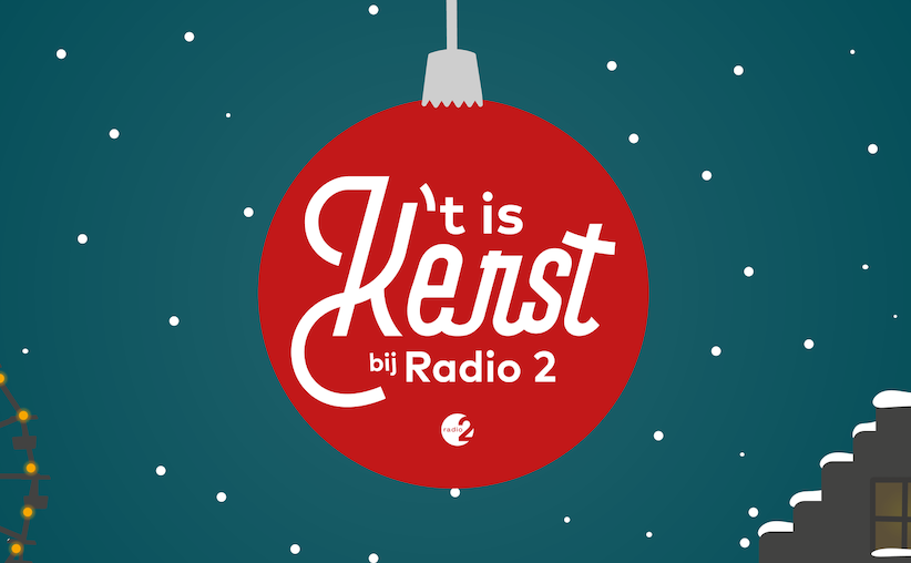 Radio 2: komend weekend is er al extra kerstsfeer