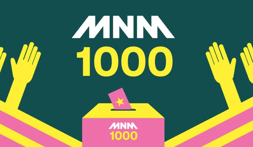 De Top 10 van de 'MNM1000'
