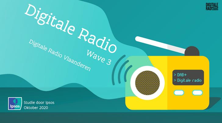 Onderzoek digitale radio Vlaanderen 2020: de details