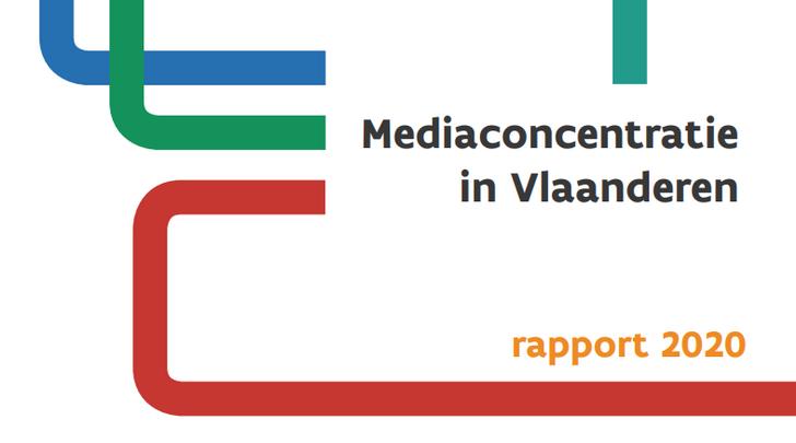 Rapport Mediaconcentratie 2020 in Vlaanderen