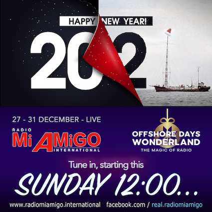 Mi Amigo Offshore Days van start (audio)