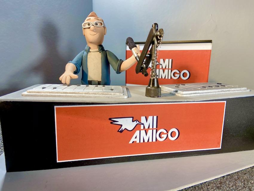 Oude 'Mi Amigo Top 50' helemaal nieuw
