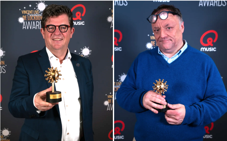 Qmusic: de eerste - en hopelijk laatste - 'Lockdown Awards' (video)