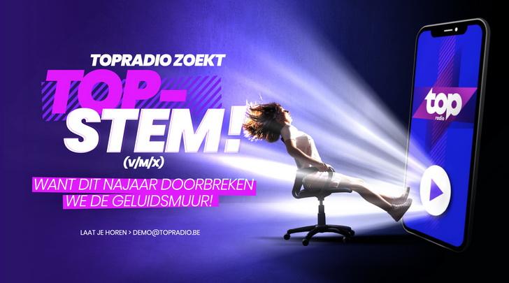 TOPradio zoekt TOPstem (v/m/x)