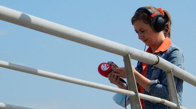 Radio 2: Kim doet het mobiel in heel Vlaanderen