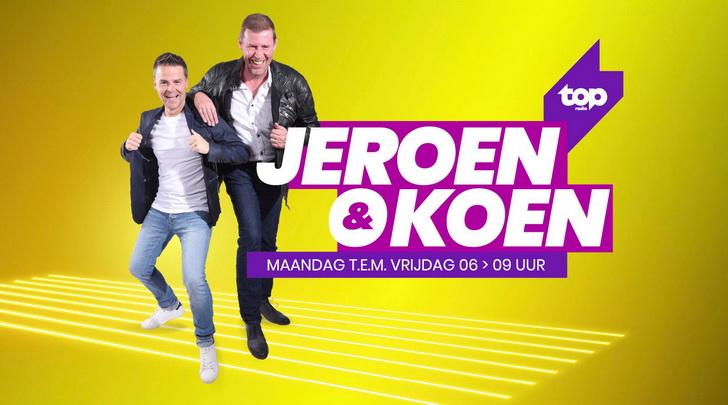 TOPradio dropt bommetje: Jeroen & Koen terug in de ochtend