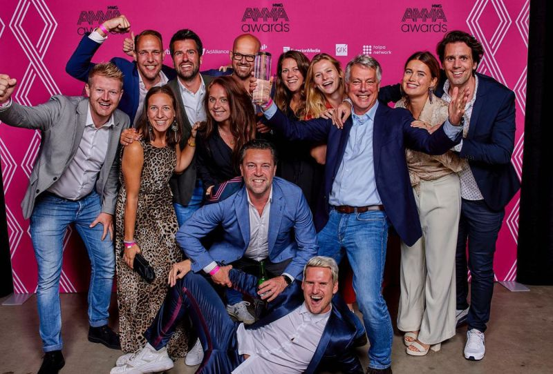 Qmusic Nederland wint AMMA Award