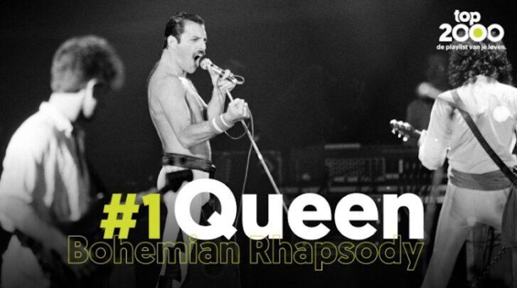 Joe Top 2000: Queen weer op de eerste plaats