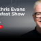 UK: Chris Evans is weer thuis (video)