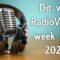 Dit was RadioVisie's week 4 in 2020