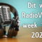 Dit was RadioVisie's week 14 in 2020